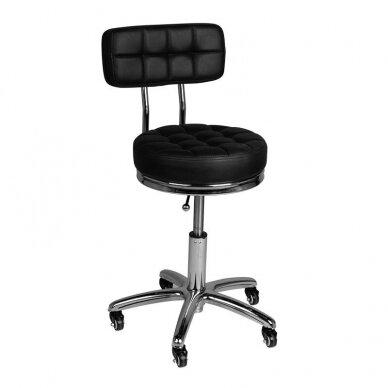 Salono kėdė AM-877, juodos sp.