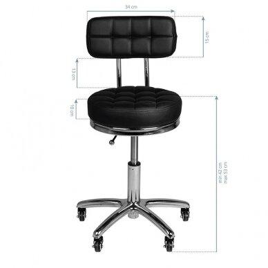 Salono kėdė AM-877, juodos sp. 2