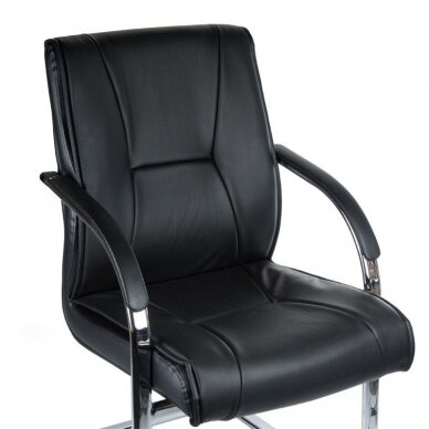 Salono krėslas, BX-3345, juodos sp. 2