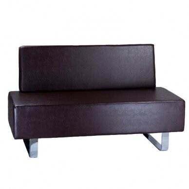 Salono laukiamojo sofa, BD-6713, rudos sp.