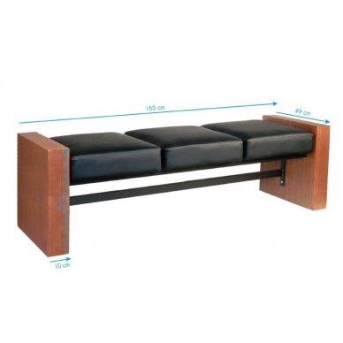 Salono laukiamojo sofa GABBIANO 2