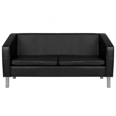 Salono laukiamojo sofa GABBIANO BM18003, juodos sp. 2