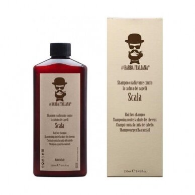 Šampūnas nuo plaukų slinkimo Barba Italiana Scala, 250ml