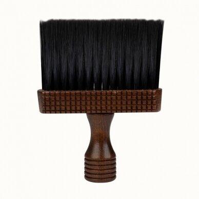 Šepetukas kaklo valymui kirpėjams ir barber meistrams