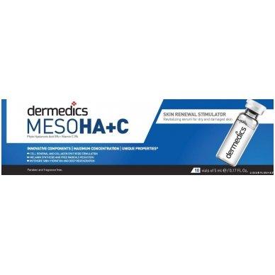 Serumas kapsulėje Dermedics Meso HA+C, 5 ml 3