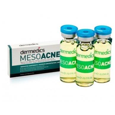 Serumas kapsulėje Dermedics Mesoacne, 5 ml