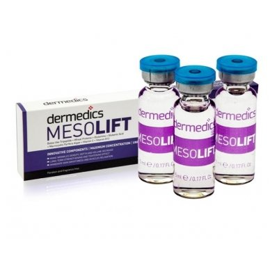 Serumas kapsulėje Dermedics Mesolift, 5 ml