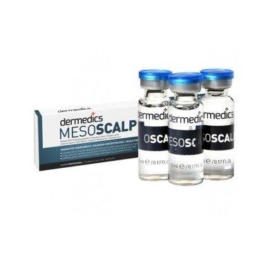 Serumas kapsulėje Dermedics Mesoscalp, 5 ml