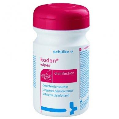 Servetėlės odos ir mažų paviršių dezinfekcijai Kodan® Wipes, 90 vnt. (dėžutė), Schülke&Mayr