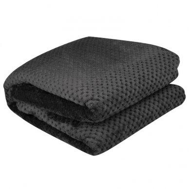 Šildanti antklodė 150x80 PREMIUM GREY POLAR, pilkos sp.