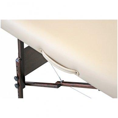 Sulankstomas masažo stalas su šildymu МОKKО, smėlio sp. 6