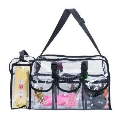 Skaidrus vinilinis kosmetikos krepšys KC-CZ02 2