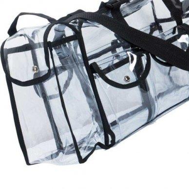Skaidrus vinilinis kosmetikos krepšys KC-CZ02 5
