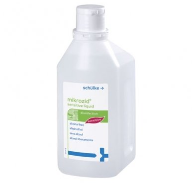 """Skystis greitai paviršių dezinfekcijai """"Mikrozid Sensitive liquid"""", 1 l"""