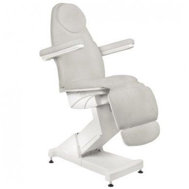 Kosmetologinis krėslas BASIC 158, trijų variklių, pilkos sp. 2