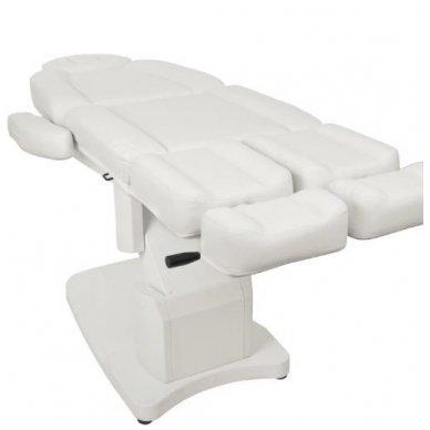 Daugiafunkcinis elektrinis krėslas-lova AZZURRO 708AS, baltos sp. 2