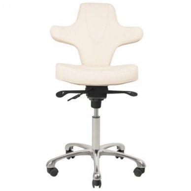 Meistro kėdė AZZURRO SPECIAL 052, baltos sp. 3