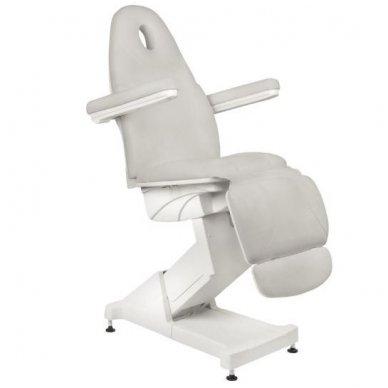 Kosmetologinis krėslas BASIC 158, trijų variklių, pilkos sp. 3