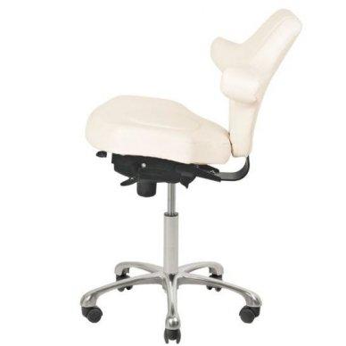 Meistro kėdė AZZURRO SPECIAL 052, baltos sp. 4