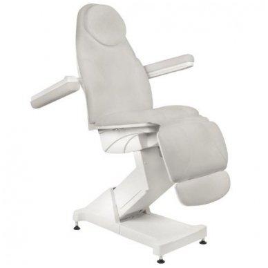 Kosmetologinis krėslas BASIC 158, trijų variklių, pilkos sp. 4
