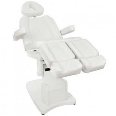 Daugiafunkcinis elektrinis krėslas-lova AZZURRO 708AS, baltos sp. 6