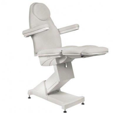 Kosmetologinis krėslas BASIC 158, trijų variklių, pilkos sp. 5