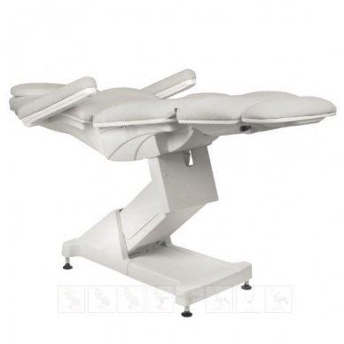 Kosmetologinis krėslas BASIC 158, trijų variklių, pilkos sp. 6