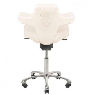 Meistro kėdė AZZURRO SPECIAL 052, baltos sp. 5