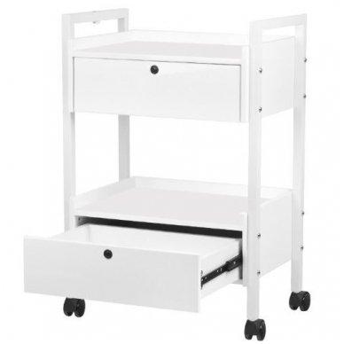 Kosmetologinis staliukas-vežimėlis TYP 1019 , baltos sp. 4