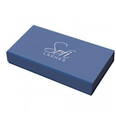 SOFI LASHES pincetų rinkinys blakstienoms TITANIUM BLUE 2
