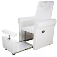 SPA pedikiūro kėdė PIRA Weelko, baltos sp.