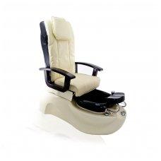 SPA pedikiūro krėslas TS-1204 ECRU, su masažo funkcija