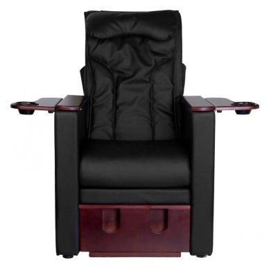 SPA, pedikūro krėslas AZZURRO su masažo funkciją, juodos sp. 4