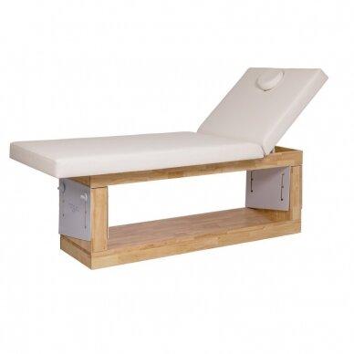 SPA - masažo lova Weelko OCCI, 3 aukščio padėtys, baltos sp.(Ispanija)