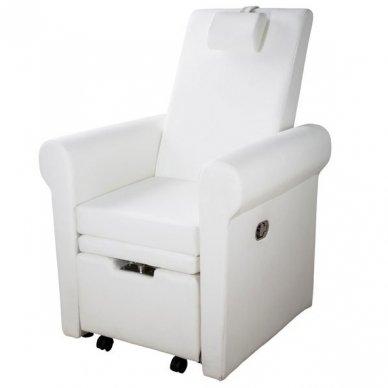 SPA pedikiūro kėdė PIRA Weelko, baltos sp.(Ispanija) 2