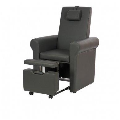 SPA pedikiūro kėdė Weelko Pira, juodos sp.
