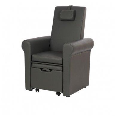 SPA pedikiūro kėdė Weelko Pira, juodos sp.(Ispanija) 2