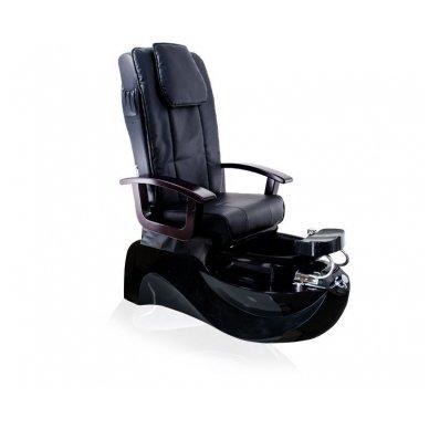 SPA pedikiūro krėslas TS-1204 su masažo funkcija, juodos sp.