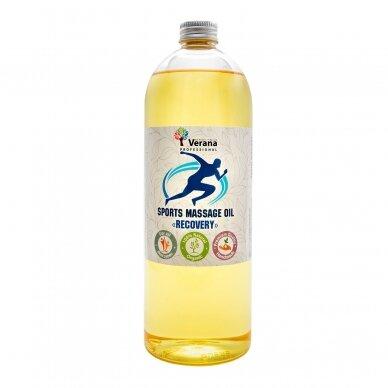 Sportinis aliejus masažui Verana - RECOVERY, 250ml 2