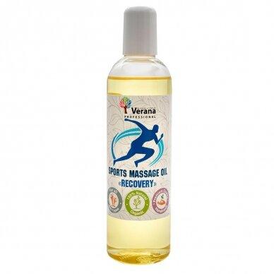 Sportinis aliejus masažui Verana - RECOVERY, 250ml