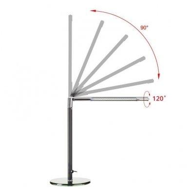 Stalinė Led lempa Ultra slim 3W, sidabrinė 2