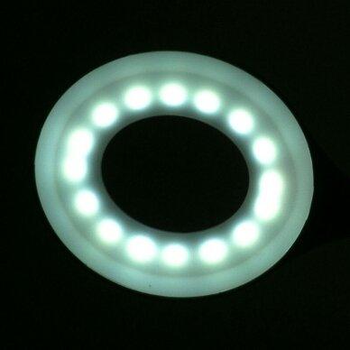 Stalinė lempa LED RING SNAKE, baltos sp. 5