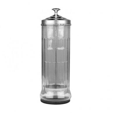 Stiklinis indas, skirtas įrankių dezinfekavimui Q6A, 1500ml