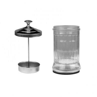 Stiklinis indas, skirtas įrankių dezinfekcijai, 1200ml 2