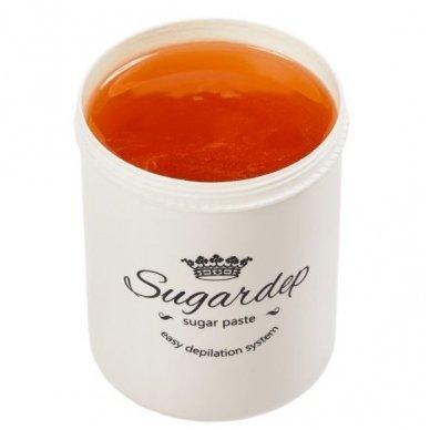 Sugardep HARD cukraus pasta depiliacijai su arabiška guma, 500gr.