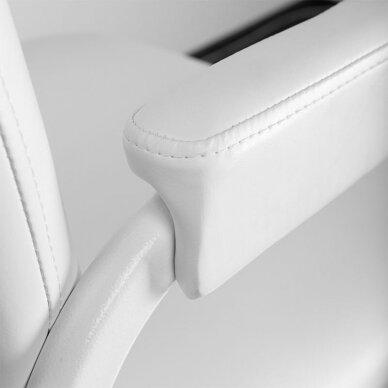 Sulankstoma kosmetologinė/pedikiūro kėdė P611, baltos sp. 3