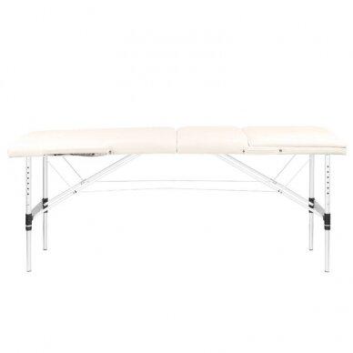 Sulankstomas 3 dalių masažo stalas KOMFORT 3, kreminės sp. 2