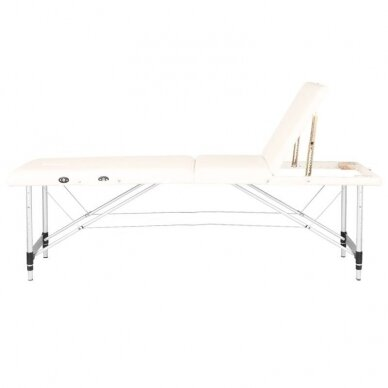 Sulankstomas 3 dalių masažo stalas KOMFORT 3, kreminės sp. 3