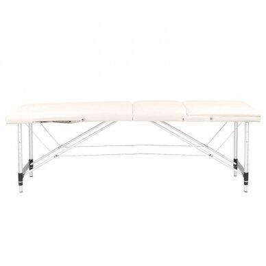 Sulankstomas 3 dalių masažo stalas KOMFORT 3, kreminės sp. 4