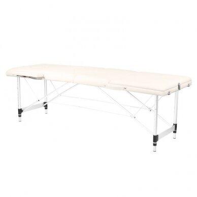 Sulankstomas 3 dalių masažo stalas KOMFORT 3, kreminės sp.